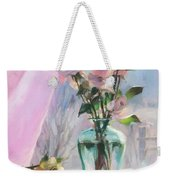 Morning's Glory Weekender Tote Bag