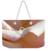 Mornings Water Droplets Weekender Tote Bag