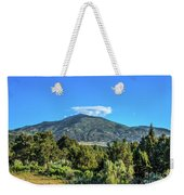 Morning View Of Albion Mountains Weekender Tote Bag