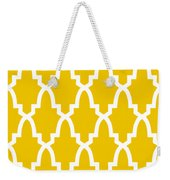Moroccan Arch With Border In Mustard Weekender Tote Bag