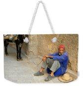 Moroccan Taxi Weekender Tote Bag