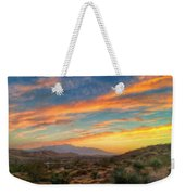 Morongo Valley Sunset Weekender Tote Bag