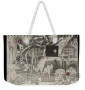 Morphology Of Time And The Omniscient Galactic Swimmer Weekender Tote Bag