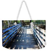 Morris Bridge Boardwalk Weekender Tote Bag