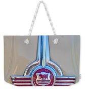 Morris Hood Emblem Weekender Tote Bag