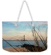 Morris Island Lighthouse In Charleston Sc Weekender Tote Bag