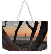 Morris Island Lighthouse Sunrise 2 Weekender Tote Bag