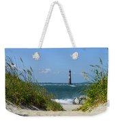Morris Island Lighthouse Walkway Weekender Tote Bag