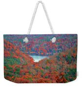 Morrow Mountain Overlook Weekender Tote Bag