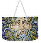 Mosaic Face Fountain Detail Weekender Tote Bag