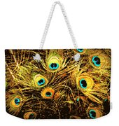 Mosaic Feathers Weekender Tote Bag