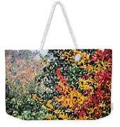 Mosaic Foliage Weekender Tote Bag