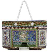 Mosaic Fountain At Getty Villa 3 Weekender Tote Bag