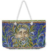 Mosaic Fountain Face View 2 Weekender Tote Bag
