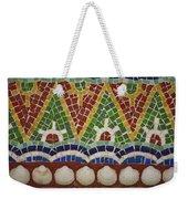 Mosaic Fountain Pattern Detail 4 Weekender Tote Bag