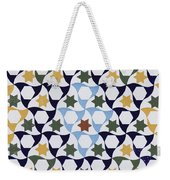 Mosaic From The Portico Of The Generalife Weekender Tote Bag