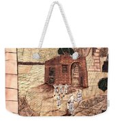 Mosaic Images At Petra Weekender Tote Bag