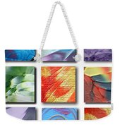 Mosaic Of Abstracts Weekender Tote Bag