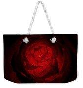 Mosaic Rose Weekender Tote Bag