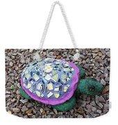 Mosaic Turtle Weekender Tote Bag