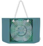 Mosaicea In Blue Weekender Tote Bag