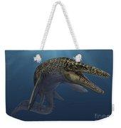 Mosasaurus Hoffmanni Swimming Weekender Tote Bag