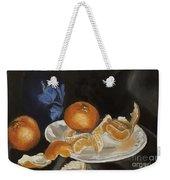 Moscato And Tangerines Weekender Tote Bag