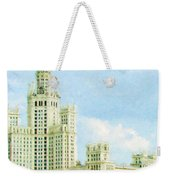Moscow High-rise Building Weekender Tote Bag