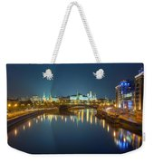 Moscow Kremlin At Night Weekender Tote Bag by Alexey Kljatov