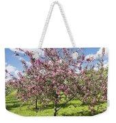 Moscow, Pink Cherries In Kolomenskoye Park Weekender Tote Bag
