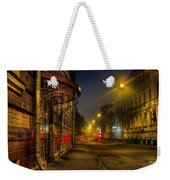 Moscow Steampunk Weekender Tote Bag by Alexey Kljatov