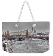 Moscow Winter Look Weekender Tote Bag