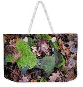 Moss And Leaves Weekender Tote Bag