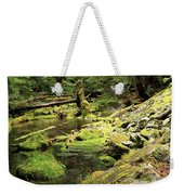 Moss By The Stream Weekender Tote Bag