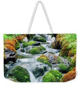 Moss Covered Stream Weekender Tote Bag