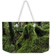 Moss Covered Tree Stump Weekender Tote Bag