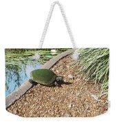 Moss Covered Turtle Weekender Tote Bag