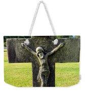 Moss On Cross Weekender Tote Bag