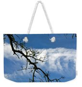 Mossy Branches Skyscape Weekender Tote Bag