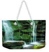 Mossy Falls - 2981 Weekender Tote Bag
