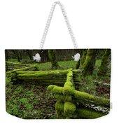 Mossy Fence 4 Weekender Tote Bag