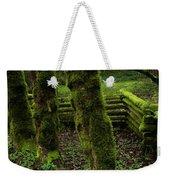 Mossy Fence Weekender Tote Bag