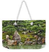 Mossy Japanese Garden Weekender Tote Bag