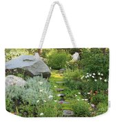 Mossy Path In Tahoe Weekender Tote Bag