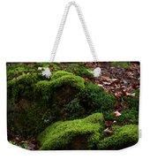 Mossy Rocks In Spring Woods Weekender Tote Bag