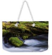 Mossy Rocks Oregon 3 Weekender Tote Bag