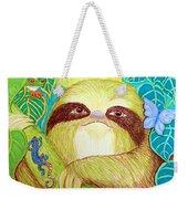 Mossy Sloth Weekender Tote Bag