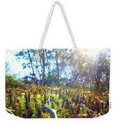 Mossy Sunburst Weekender Tote Bag
