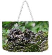 Mossy Tree Knot Weekender Tote Bag