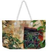Mossy Wall Weekender Tote Bag
